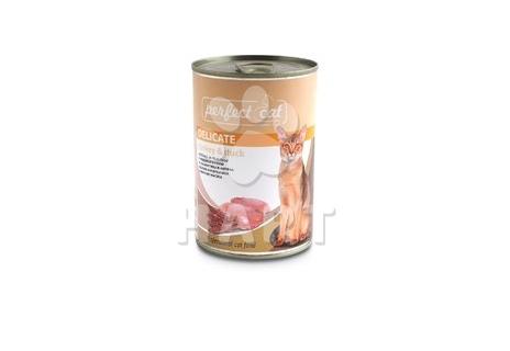 Perfect Cat Turkey&Duck (krůtí&kachna), 400g