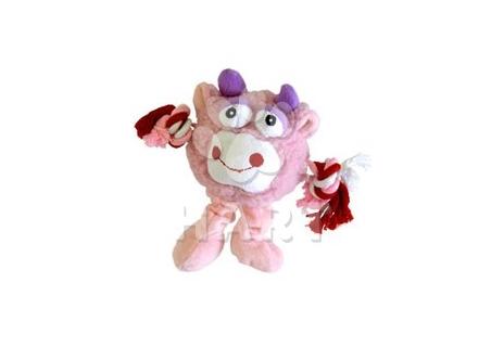 Monster Friend růžový, vel.21cm
