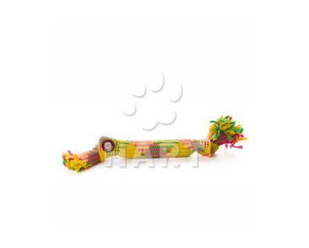 Bavlněný pískací uzel 40 cm, bavlněná hračka