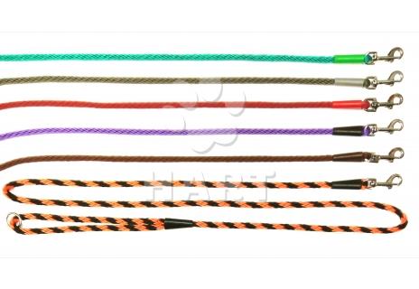 Vodítko lano spirála, prům.6mm,dl.150cm