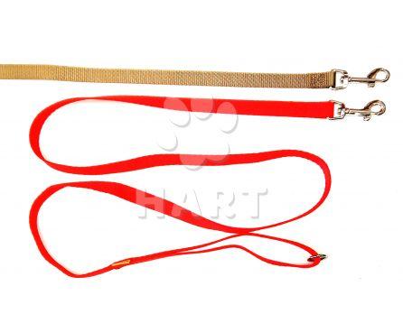 Vodítko jednobarevné tkané, š.15mm dl.150cm