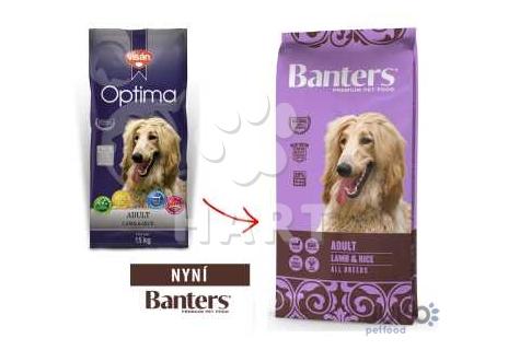 Banters (Visán OPTIMA) Adult lamb&rice 15kg