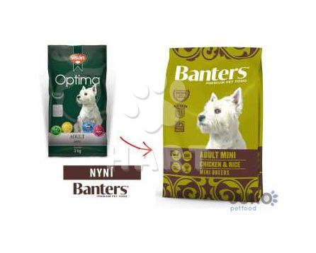 Banters (Visán OPTIMA) Adult MINI Chicken&Rice 3kg