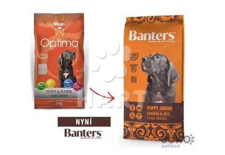 Banters (Visán OPTIMA) Puppy junior LARGE BREEDS 3kg