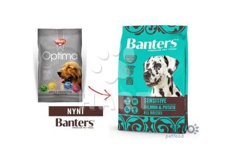 Banters (Visán OPTIMA) Sensitive Salmon&Potato 15kg