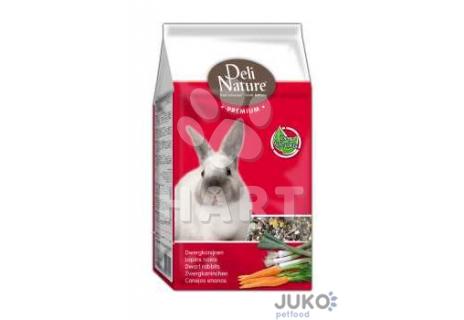 Deli Nature Premium DWARF RABBITS 800g-Zakrslý králík