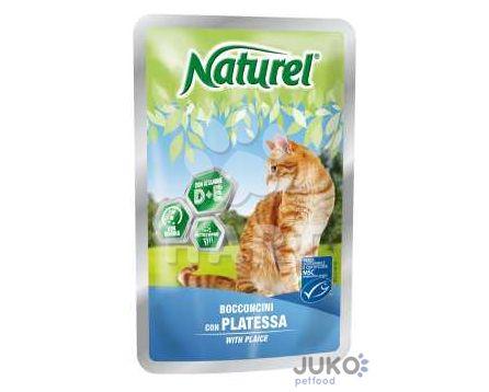 Naturel cat pouches PLAICE (platýz) 100g