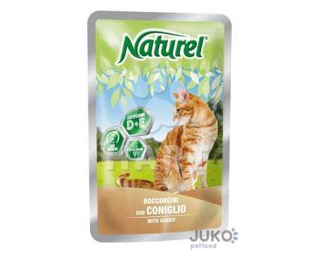 Naturel cat pouches RABBIT (králík) 100g