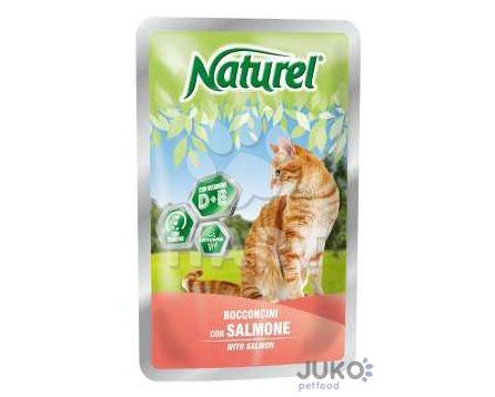 Naturel cat pouches SALMON (losos) 100g