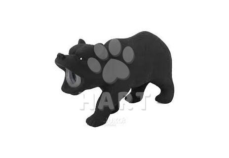 Latexová pískací hračka - Medvěd 15 x 5 x 9cm