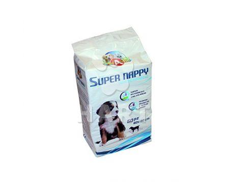 Návyková podložka Super Nappy vel.60x60cm   10ks