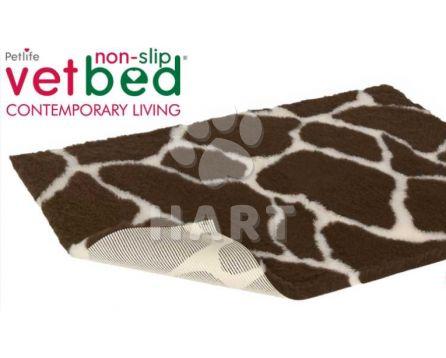 Poduška Vetbed protiskluz / Drybed vzor Žirafa vel.150x100cm, gramáž 2000g, výška 30mm     1ks