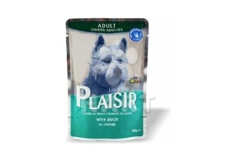 Plaisir Dog adult  kapsička 100g, kachní, 40% masa
