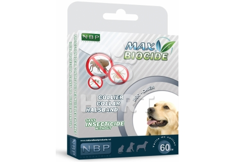 Max Biocide Collar Dog 60cm, antiparazitní obojek    1ks