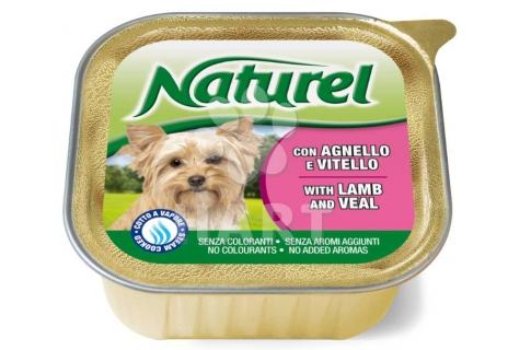 Naturel dog vanička Lamb&Veal(jehněčí a telecí) 150g