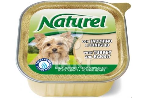 Naturel dog vanička Turkey&Rabit(krůta a králík) 150g
