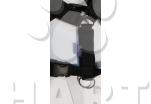 Postroj podšitý ČERNÝ, vel.XL(obvod krku 51-56cm), zn.Zero DC