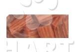 Pamlsky - Snack Rabit Spiral Stick 2cm  měkké králičí kousky   250g