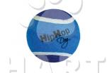 Tenisál - tenisový míč barevný prům.6,5 cm HIPHOP DOG                                     1ks