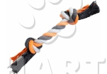 Bavlněný uzel -vel.30 cm/140g, 2knoty(silný)    1ks
