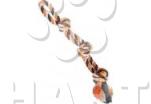 Dvojité lano HipHop bavlněné 3 knoty 60 cm / 450 g       1ks