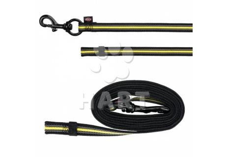Vodítko krátké výcvikové bez poutka SPORTING FUSION, ploché, š.17mm/dl.1m 13053 -