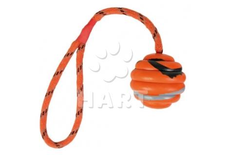 Balonek na laně dl.30cm, prům.6cm oranžový, zn.Trixie