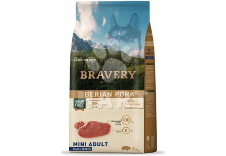 Bravery Dog  MINI ADULT Iberian pork (iberské prase)   2kg