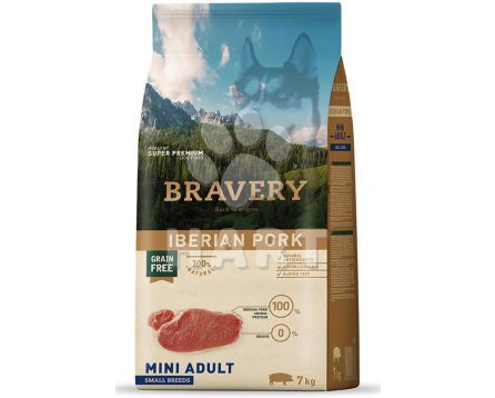 Bravery Dog  MINI ADULT Iberian pork (iberské prase)   2kg