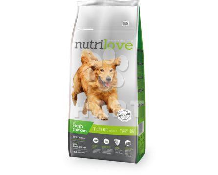 Nutrilove MATURE 7+  pro starší psy  3kg