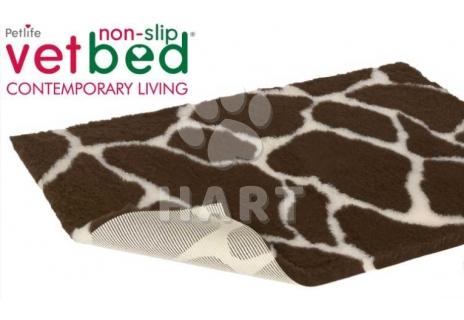 Poduška Vetbed protiskluz / Drybed vzor Žirafa vel.75x50cm, gramáž 2000g, výška 30mm     1ks