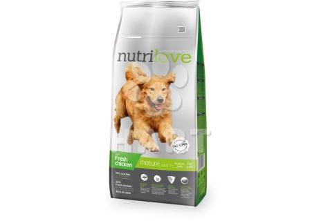 Nutrilove MATURE 7+  pro starší psy  12kg