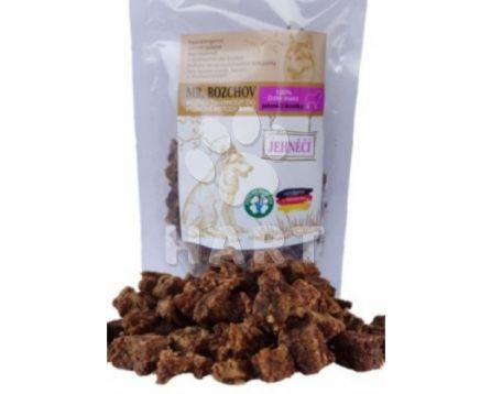 Sušené maso 100% , čisté JEHNĚČÍ kostky - přírodní pamlsek pro psa 80g