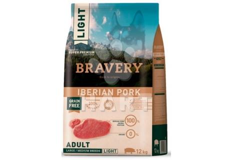 Bravery Dog   LIGHT LARGE/MEDIUM Iberian pork (iberské prase)   4kg