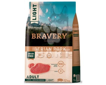 Bravery Dog   LIGHT LARGE/MEDIUM Iberian pork (iberské prase)   4kg