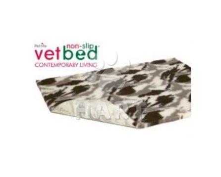 Poduška Vetbed protiskluz / Drybed vzor Camo-poušť vel.75x50cm, gramáž 2000g, výška 30mm     1ks