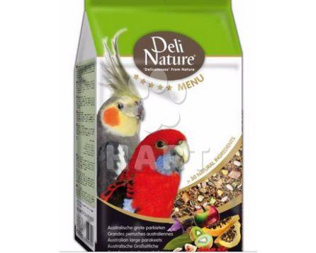 Deli Nature 5 Menu AUSTRALIAN PARAKEETS 800g-Australský Papoušek-