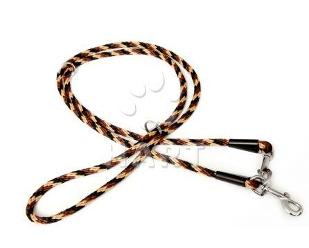 Vodítko přepínací, lano-SPIRÁLA, vel.prům.10 x dl.240cm