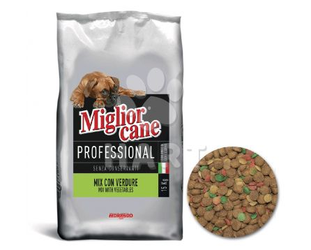 Miglior DOG Professional  Vegetable mix  15kg