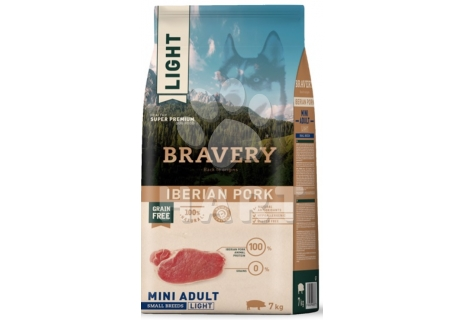 Bravery Dog  MINI LIGHT Adult Iberian pork (iberské prase)   7kg