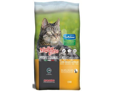 Miglior Nutribene Cat kuře a telecí , bal. 1,5kg (1kg/70,-)