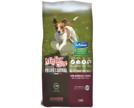 Miglior DOG Nutribene MINI jehněčí a špalda  pro malá plemena 1,5kg pes (70,-/kg)
