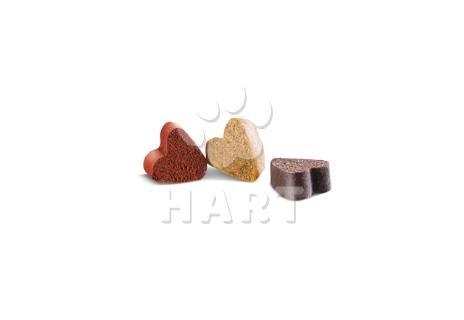 Měkké pamlsky Pets Taste Hearts Mix (srdíčka) 140g
