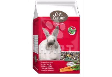 Deli Nature Premium DWARF RABBITS 3kg-Zakrslý králík