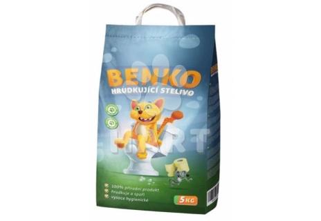 BENKO  stelivo 5kg- hrudkující