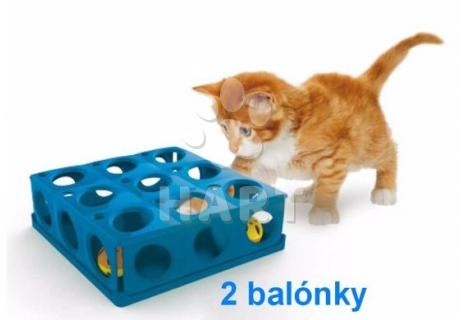 LABYRINT pro kočky TRICKY 25 x 25 x 9cm