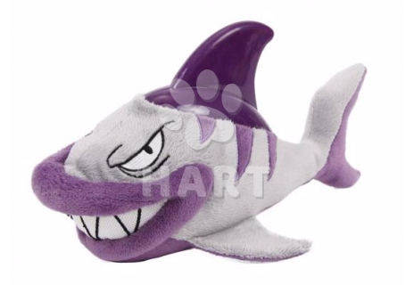 Plyšová hračka s termoplastickou gumou - Žralok 31x17cm