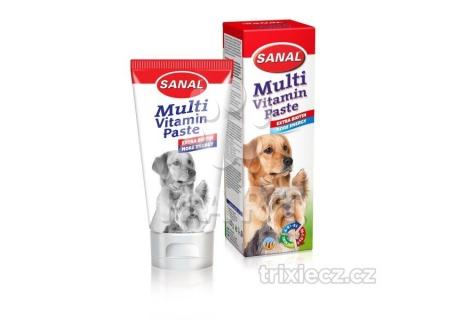 Sanal Multivitamínová pasta+BIOTIN na srst  100 g