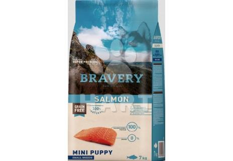 Bravery Dog  MINI PUPPY Salmon (losos)   2kg