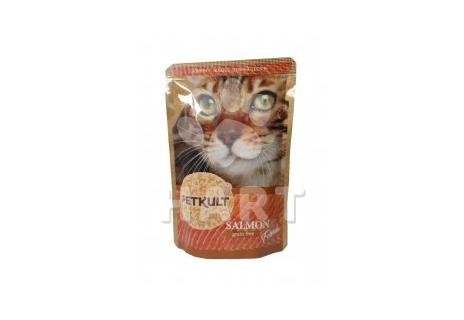 Petkult Cat kapsička Salmon(Losos  55% masa) 100g